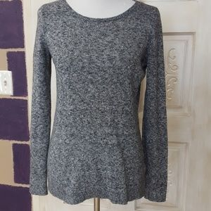 Nwot marbled gray sweater